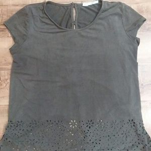 Maurices olive green shirt